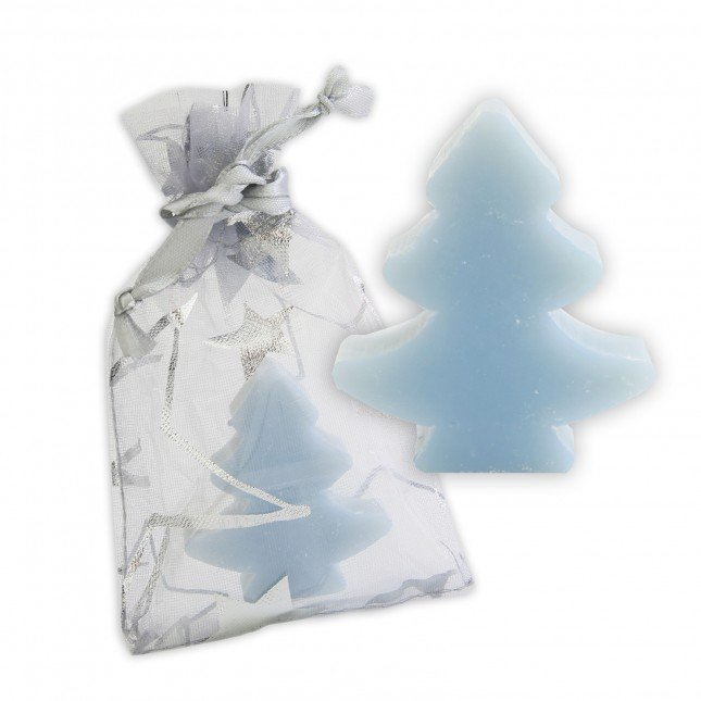 XMAS Tree Soap in Mesh Gift Bag
