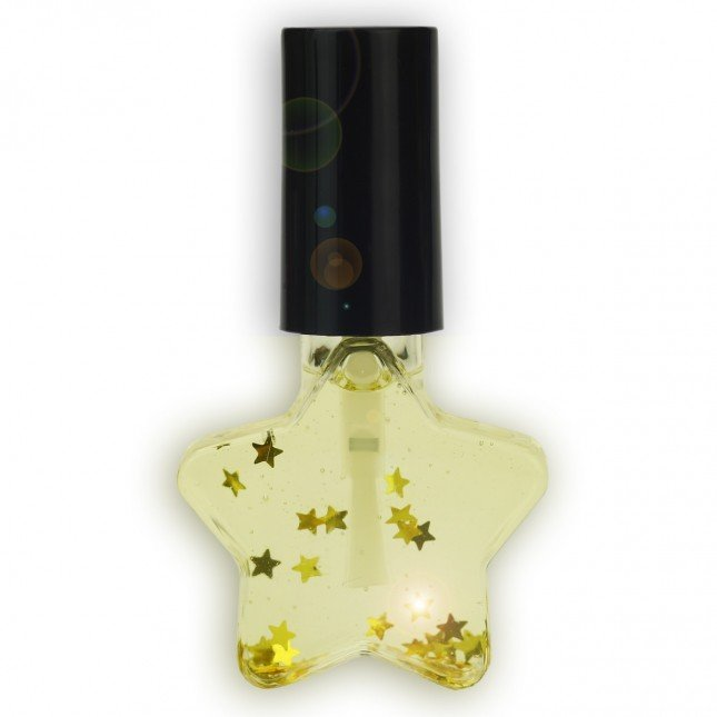 XMAS Scented Almond Nail Oil in Star Design Bottle, 8ml