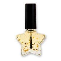 XMAS Scented Almond Nail Oil in Star Design Bottle, 10ml