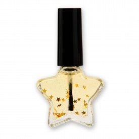 XMAS Scented Almond Nail Oil in Star Design Bottle, 10ml