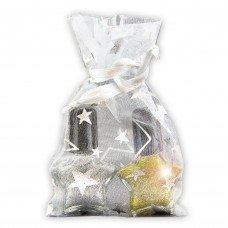 Christmas Glitter Nail Polish Set in Star Shaped Bottles